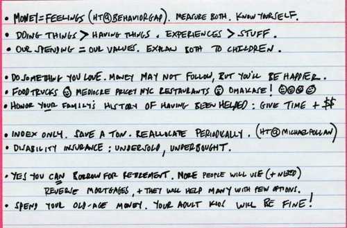 ron lieber index card